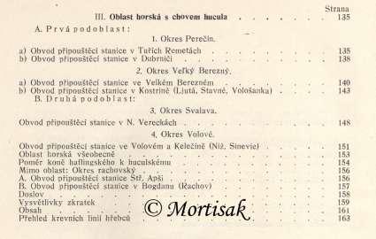 Chov koní na podkarpatské rusi v letech 1910-1934 3